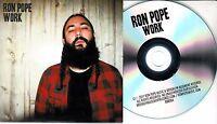 RON POPE Work 2017 UK 10-trk promo test CD