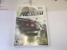 Need for Speed: ProStreet Nintendo Wii 2007