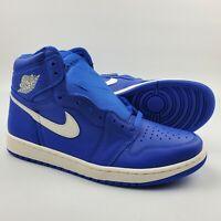 Nike Air Jordan 1 Retro High OG Hyper Royal Blue Basketball Shoes 555088-401