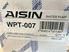 Engine Water Pump AISIN WPT-007 fits 85-95 Toyota Pickup 2.4L-L4
