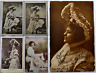 Miss Marie George US Edwardian Actress Photograph Postcard x 4 - 2 Signed