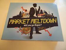 MARKET MELTDOWN. Board Game Roulette game. Clarendon Games 2012. Unused