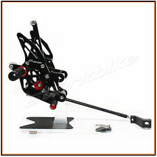 Foot Rest Rearset Rear Sets Foot Pegs Pedals YAMAHA FZ1 2006- 2013 FZ8 2010-2013