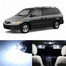 13 x White LED Lights Interior Package Kit for Honda Odyssey 1999 - 2004 + TOOL