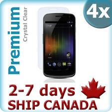 CitiGeeks® Samsung Galaxy Nexus Screen Protector Crystal Clear HD I9250 [4-Pack]