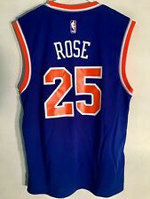 Adidas NBA Jersey New York Knicks Derrick Rose Blue sz XL e697923f8