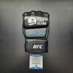 Kevin Holland Signed UFC Fight Island MMA Glove With BECKETT COA