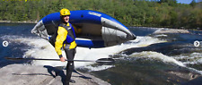 Sea Eagle 300XK Explorer Kayak Deluxe 1 seater  hitting those white water rapids