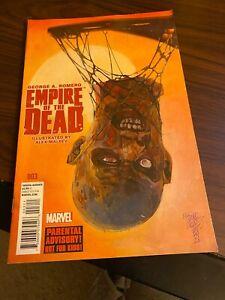 George Romero's Empire of the Dead: Act One #3 VFNM Marvel Comics