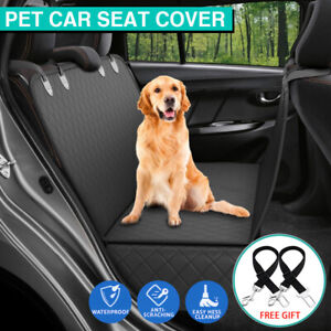 Dog Pet Back Car Seat Cover Hammock Waterproof NonSlip Premium SUVs Protector