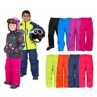 Trespass Boys Girls Ski Pants Waterproof Salopettes Kids 2-12 Years