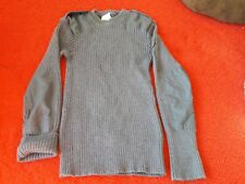 RAF Jumper, Jersey Man's Heavy Blue Grey Round Neck, Size 112cm