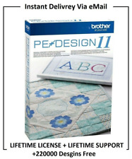 PE DESIGN 11 - Embroidery Software + FREE GIFT ⭐INSTANT DELIVERY ⭐ FULL VERSION⭐
