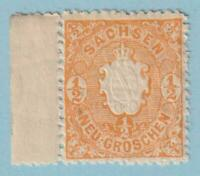 GERMAN STATES SAXONY 16  MINT NEVER HINGED OG ** NO FAULTS EXTRA FINE !