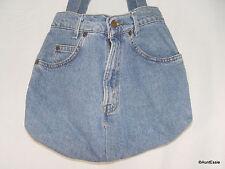 LEVI'S Purse Womens Vintage 1970's Orange Tab Denim Handbag