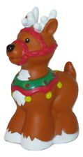 Fisher Price Little People Replacement Christmas Reindeer Santa Sleigh