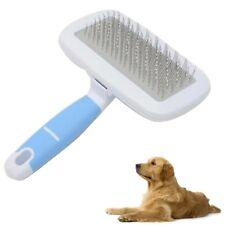 Spazzola cardatrice pettine in acciaio elimina peli per cani   PET-03