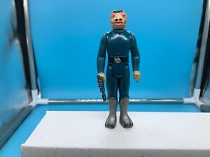 Vintage Star Wars 1979 Blue Snaggletooth Complete PLEASE READ NO REPRO