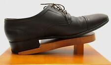 Salvatore Ferragamo Mens 6.5 EEE Shoes Lavorazione Originale Brown Oxford Vibram