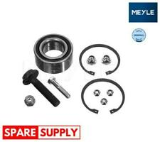 WHEEL BEARING KIT FOR AUDI SKODA VW MEYLE 100 498 0137