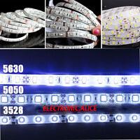 5M SMD RGB 5050/3528/5630 300LEDs Cold/Warm White Strip Light Waterproof DC12V