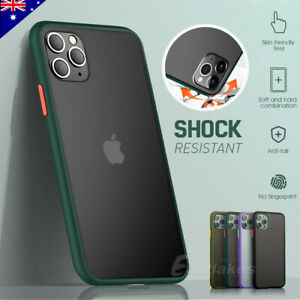 iPhone 12 mini 11 Pro Max XS Shockproof Slim Matte Bumper Case Cover For Apple