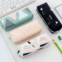 Cute Pencil Cases Kawaii School Fabric Pen Bag Box Case Pouch Office Statio V2U4