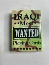Bicycle 43227-3060 Iraqi Most Wanted Playing Cards