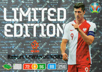 PANINI ADRENALYN XL UEFA EURO 2020 ROBERT LEWANDOWSKI LIMITED EDITION CARD