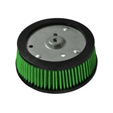 Green Filter Harley Screaming Eagle 3-Hole Filter - ID 5.3in. / Base 6.38in. / 5