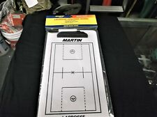 "Martin Sports Lacrosse Dry Erase Coach Board w/Marker 2 sided 9""x15"""