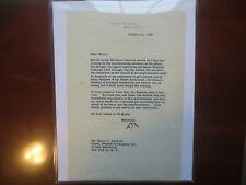 President Dwight Eisenhower 2020 Historic Autographs Loa Letter Auto Beckett Bas