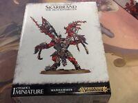40K Warhammer AOS Skarbrand the Bloodthirster Daemons of Khorne NIB