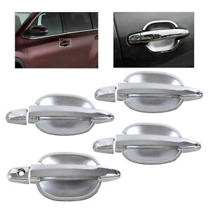 Hotsale Chrome Door Handle+ Cup Bowl Cover Trim fit for Toyota Camry Highlander