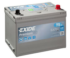 EA754 4 Year Warranty Exide Battery 75AH 630CCA W030TE Type 030