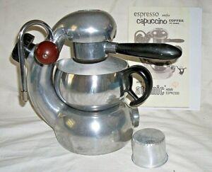 ATOMIC Coffee Cappuccino Maker Machine BREVETTI ROBBIATI Badge