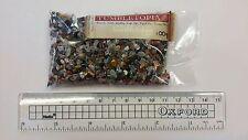 100g BAG Mixed Semi Precious Gemstone FINE Pieces Chips TUMBLETOPIA TUMBLESTONES