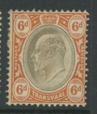 Transvaal, Mint, #258, Ng, Nice Centering