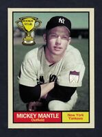 Mickey Mantle '51 New York Yankees Rookie Stars #18 by Monarch Corona NM cond.