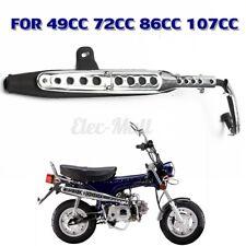 Muffler Exhaust Pipe System For Honda CT 70 Lifan Mini Trail Dirt Pit Bike USA
