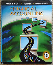 Financial Accounting   MEIGS   1997   Hardcover   Book Only   GOOD CONDITION