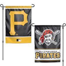 "Brand New MLB Pittsburgh Pirates  2 Sided 12"" X 18"" Garden Flag Wincraft"