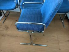 More details for cantilever pieff style set of 4  dining  chairs 1970s mid century modern