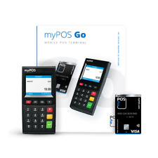 MyPOS Go - Mobile Credit Card Terminal - Ideal For Take-Away Delivery Drivers