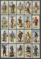 1929 Churchman's Warriors of All Nations Tobacco Cards Complete Set of 25