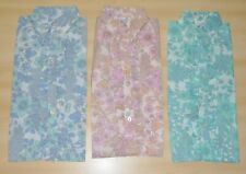 3 PACK OF VINTAGE 1970s GIRLS FLORAL PATTERNED  BLOUSES ASSORTED COLOURS & AGESS