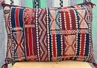 vintage Moroccan Kilim decorative Pillow P15 Handmade Berber Tribal/26