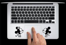 Mickey Minnie Kissing Keyboard Apple Macbook Air Pro Decal Sticker Skin Vinyl