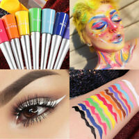12 Color Matte Liquid Eyeliner Waterproof Eye Liner Pen Long Lasting Eye Makeup