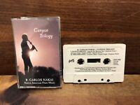 Vintage R. Carlos Nakai CANYON TRILOGY Cassette Native American Flute Music VGC